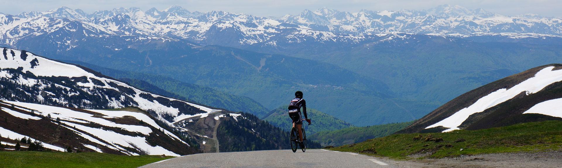 Bikecat Cycling Tours - Col du Pailheres - Pyrenees
