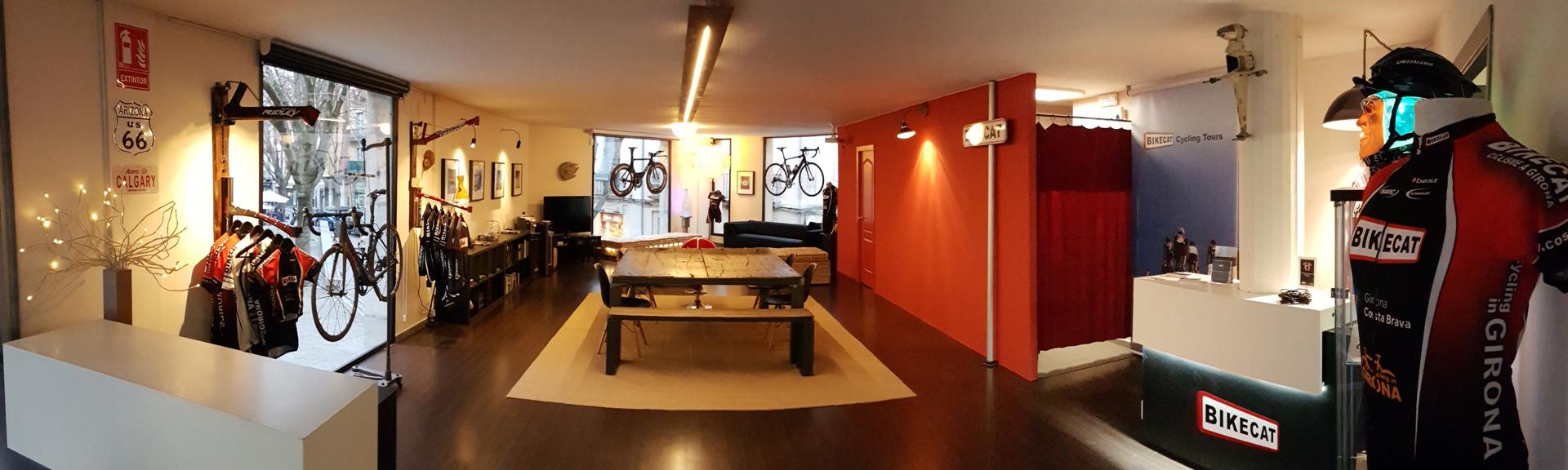 Bikecat Cycling Tours Headquarters in Girona