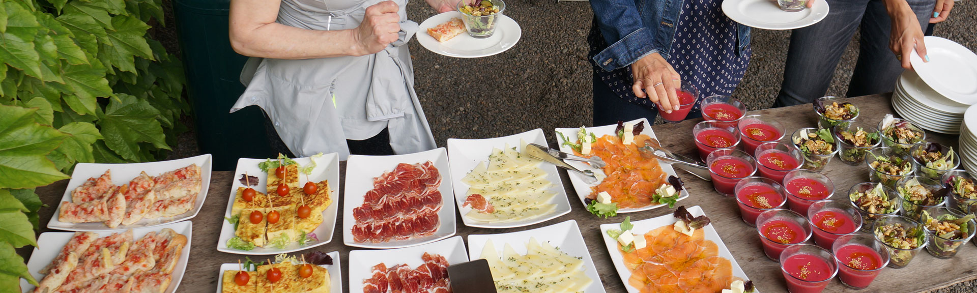Exquisite lunches - Bikecat Cycling Tours