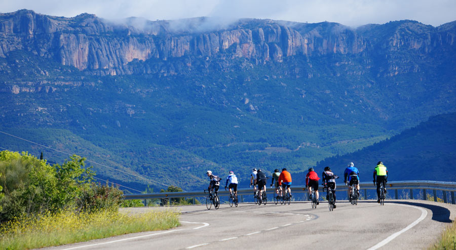 Montsant Mountains - Cycling in Priorat Wine Country