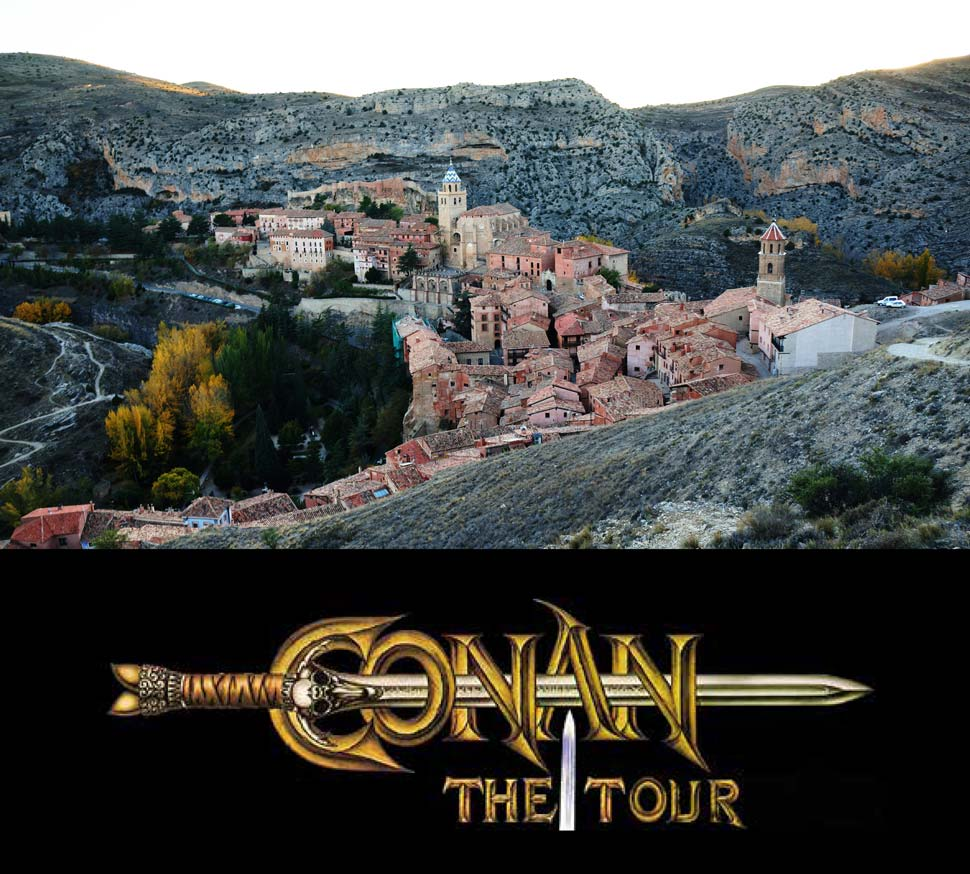 The Conan Tour: Travel through the history of Spain